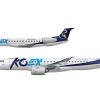 KOEX 코엑스, Embraer E145 & E190-E2, HL7252 & HL8371
