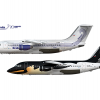 Drakeavia, British Aerospace 146-200's, CC-CPS & CC-CPR