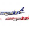 Sindbad & Aladdin, Airbus A320neo's, 9K-AAE & JY-AAW