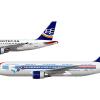 Aerotecas, Airbus A318 & Boeing 767-200, N946TA & N110TA