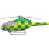 London's medical response fleet, Airbus H120, G-RVGC