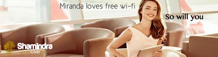Shamindra Club Miranda Kerr Banner 3 (Free Wi-Fi)