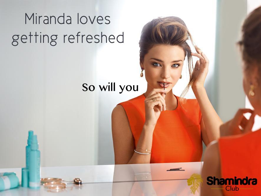 Shamindra Club Miranda Kerr Banner 5 (Refreshment)