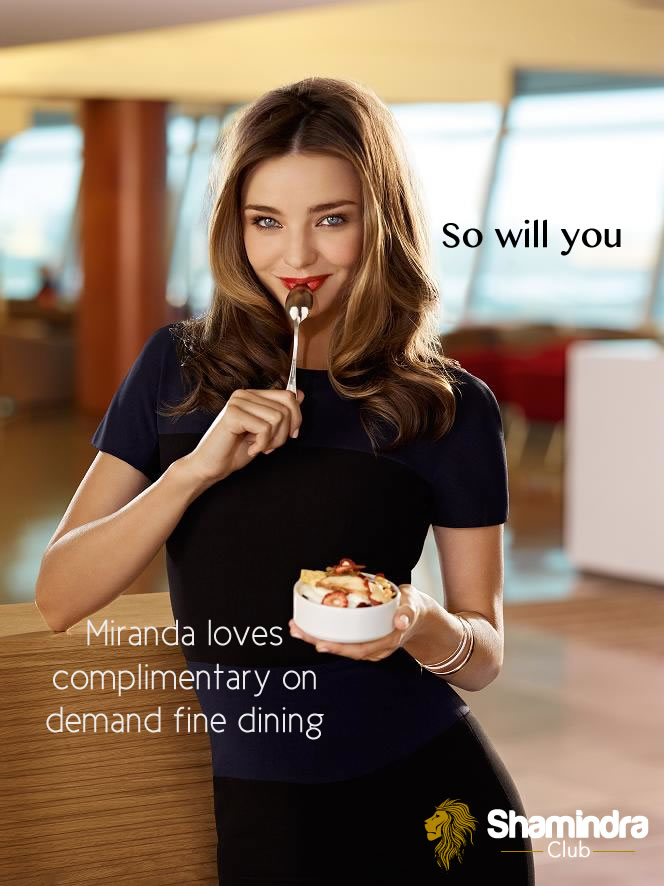 Shamindra Club Miranda Kerr Banner 4 (Fine Dining)