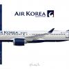 Air Korea | Airbus A220-300 | HL8209