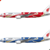 Boeing 777-200 Air China Phoenix Liveries Poster