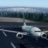 PH-HSJ touching down in Rovaniemi