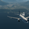 N612AS departing Juneau