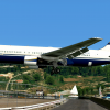 N673BF landing at Skiathos