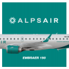 Alps Air | Embraer 190 | 2016 livery