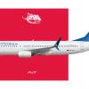V̶i̶r̶g̶i̶n̶ Ansett Australia Boeing 737-8FE.