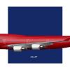Qantas 747-434ER Wunala Dreaming Delivery Livery