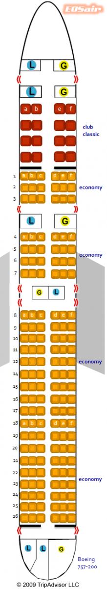 EOSair Boeing 757-200