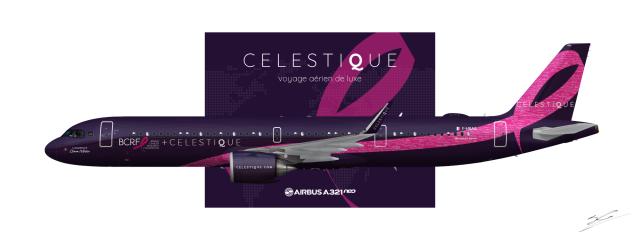 Celestique BCRF A321neo