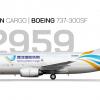 North-Western Cargo 733F