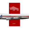 Pacific National Airlines Boeing 747-100 '1984 Olympics'