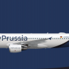 FlyPrussia Airbus A320