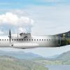 ALBA ATR 72 - Edinburgh Castle