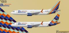 Bennu 737 Max 200s