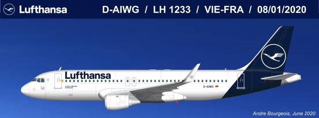 Lufthansa A320 Jan2020