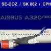 SAS A320Neo FEB2020