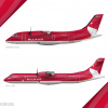 Nuukair Prop Poster (ATR 72 and Do328)