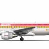 Airbus A320 214CFM Iberia EC ILR (Old Livery)