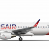 """Airbus A320-214CFMSL Tunisair """"Relevance Livery"""" - TS IMW"""