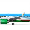 Airbus A320 251N Uzbekistan Airways (Concept) UK32021
