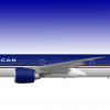 Boeing 777-300ER TransAmerican Airlines Concept 1