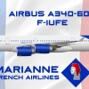 Airbus A340-600 Marianne French Airlines