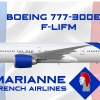 Boeing 777-300ER Marianne French Airlines