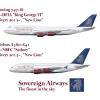 Sovereign Airways Superjumbos | 747-8I, A380-800