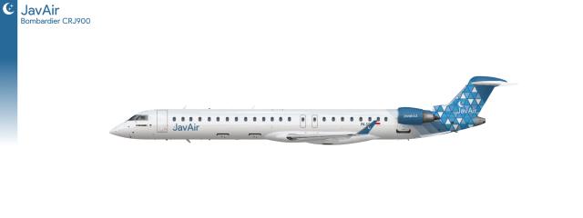 JavAir CRJ900