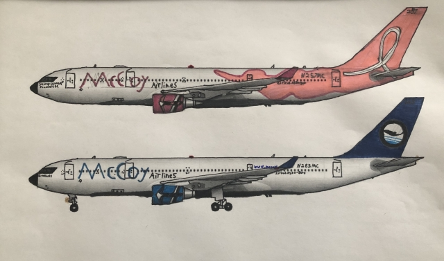 McCoy Airlines A330-200s