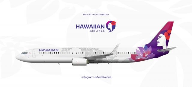 HAWAIIAN 737 900ER