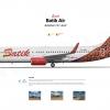 BATIK AIR PK LBK 737 800