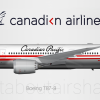 Canadian Airlines 787-8 Retro Livery (Canadian Pacific Airlines)