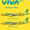 VIVA Air Columbia Historic Fleet