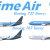 Prime Air liveries