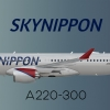 SkyNippon Airbus A220-300