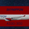 SkyNippon Airbus A330-300