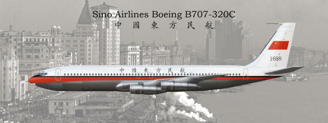 Boeing 707 320C