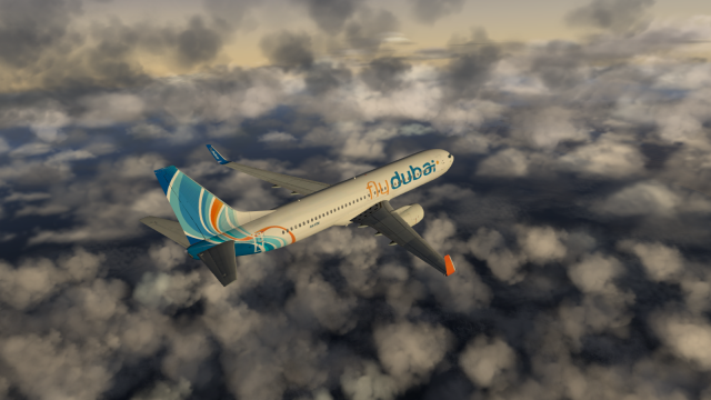 Fly Dubai 737-800 infight - X plane 10 - Gallery - Airline