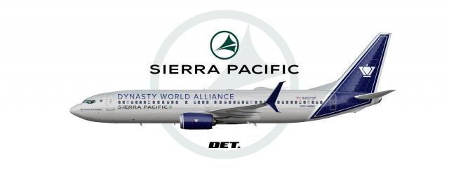 "4-2   Sierra Pacific   Boeing 737-800   2020 ""DWA Alliance Livery"""
