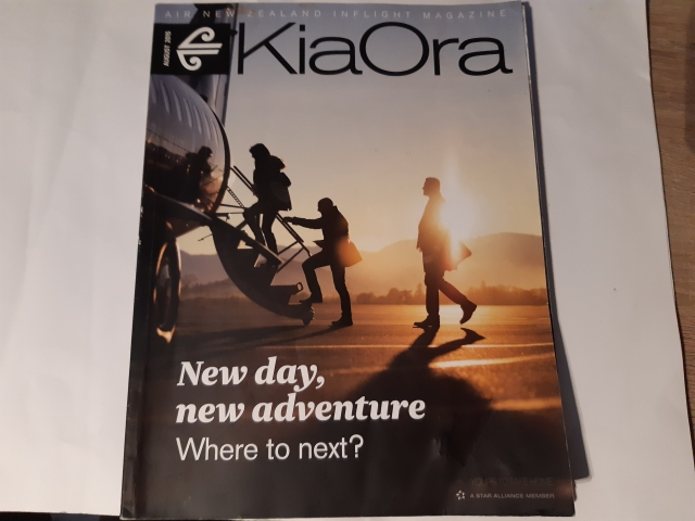 August 2015 | Air New Zealand Kia Ora