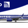 United New Livery Concept - Boeing 737-800