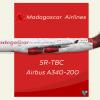 Madagascar A340 200 1
