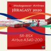 Madagascar A340 200 Hiragasy official