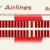 Madagascar 737 800 seat Map